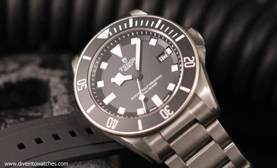 Dive watch review hands on with the tudor pelagos - Tudor dive watch ...