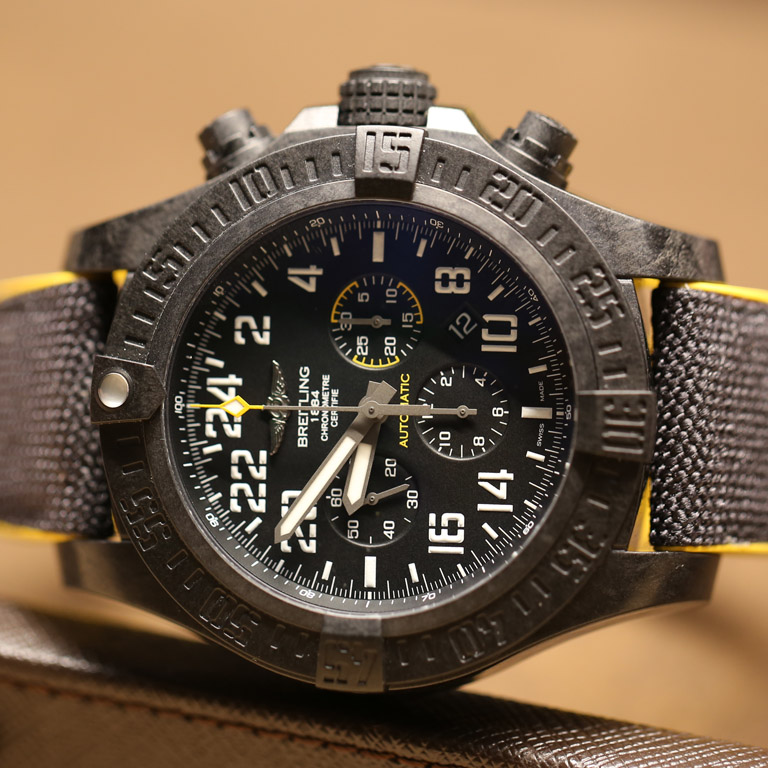Breitling Avenger Hurricane Features All New Case Material