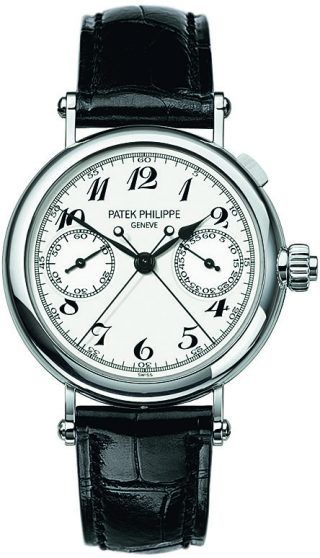 Split-seconds chronograph, Ref. 5959P-001, platinum